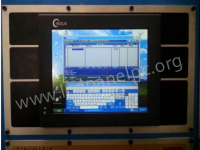 industrial touch screen panel pc embedded into machine