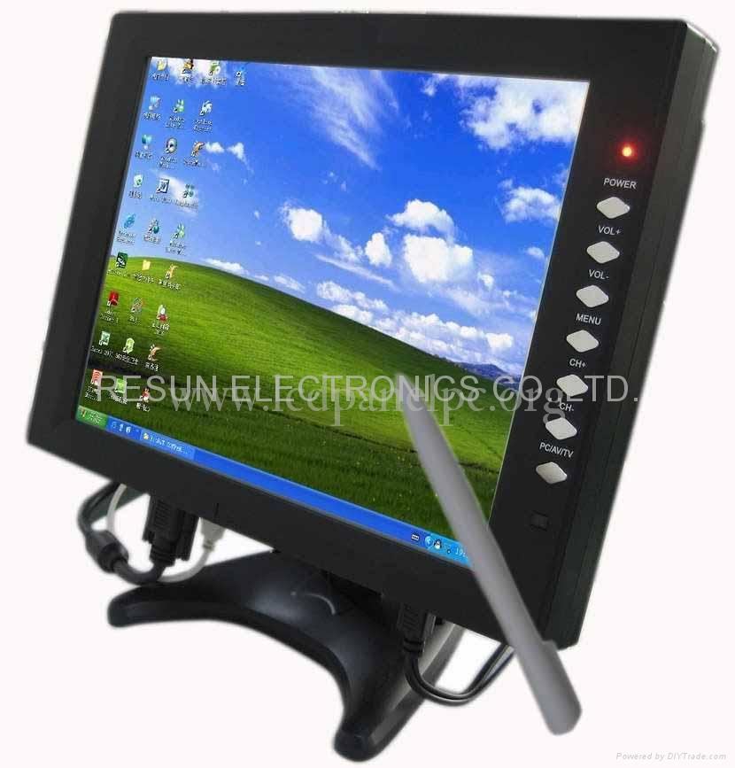 12 1 Inch Desktop Vga Touch Screen Tft Lcd Monitor For Pc