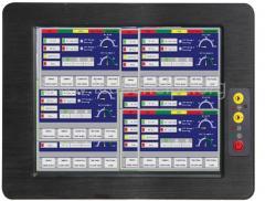 industrial fanless panel PC