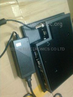 10 inch fanless touch panel pc