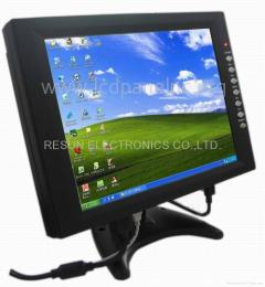 12.1 inch vga touch screen lcd monitor